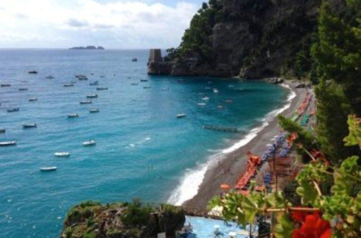 Torre Clavel e la spiaggia di Fornillo: la magia di Positano