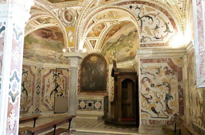 La Cripta del Duomo di Salerno e la leggenda di Ariodeno Barbarossa