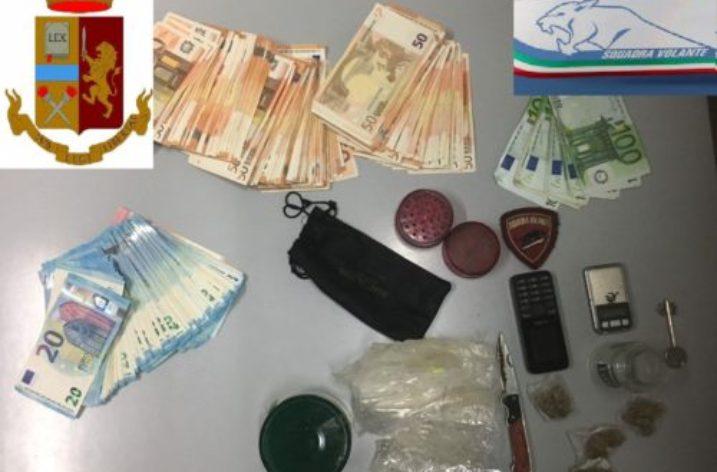 Salerno: la Polizia di Stato arresta spacciatore nella zona orientale della città