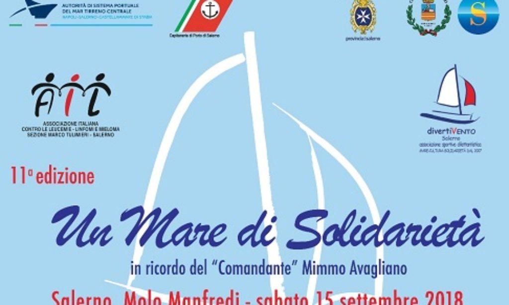 """""""Un mare di solidarietà"""" : al Molo Manfredi velaterapia per i bimbi dell'AIL"""