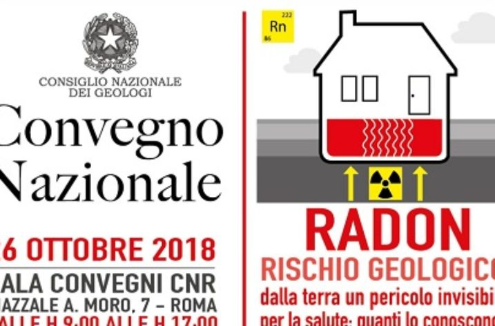 A Roma il Convegno Nazionale dei Geologi su Radon, il pericolo invisibile