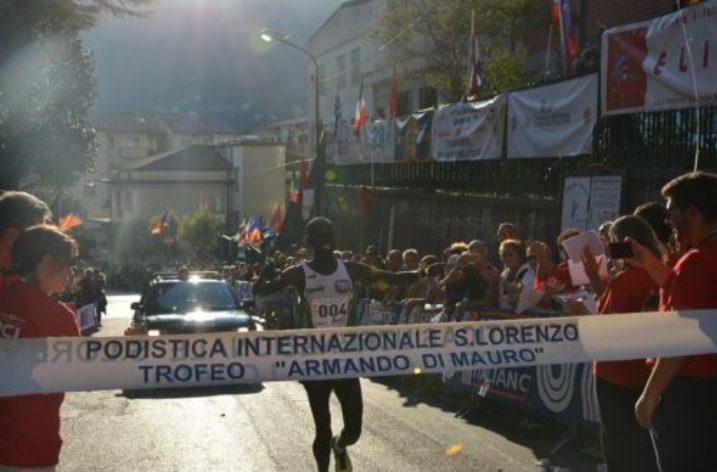57° Podistica Internazionale San Lorenzo: trionfano il keniano Kanda e la svizzera Chenaux