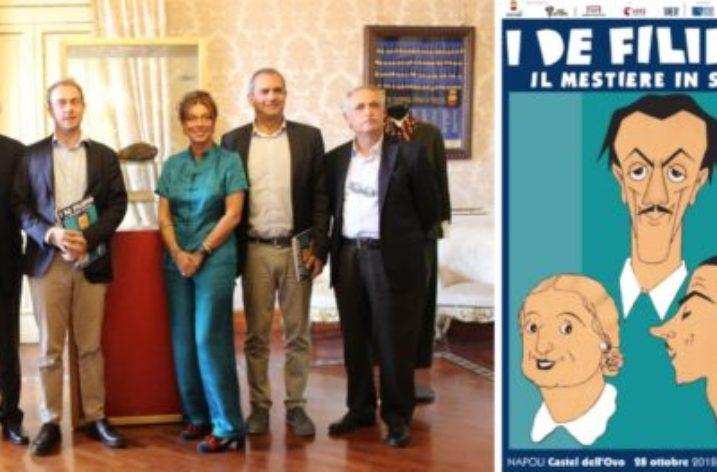 """In anteprima mondiale a Napoli """"i De Filippo, il mestiere in scena"""""""