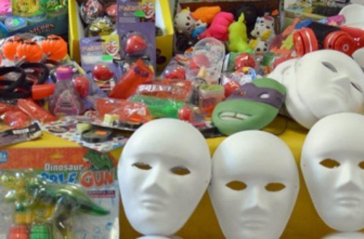 GdF: 310mila articoli sequestrati pronti per Halloween