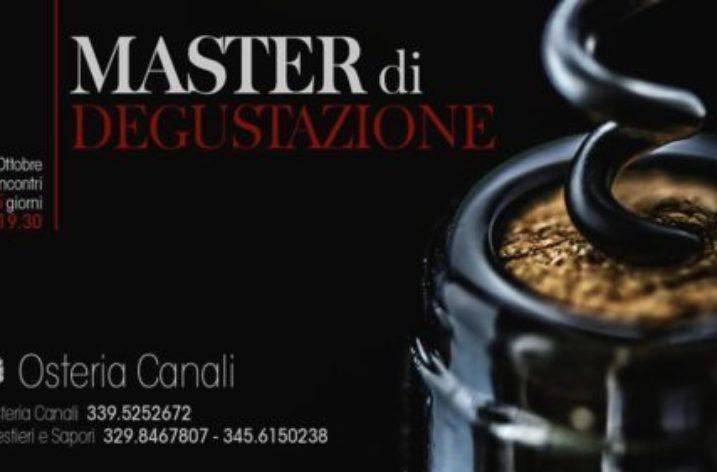 Nel cuore di Salerno, all' Osteria Canali,  Master di degustazione.