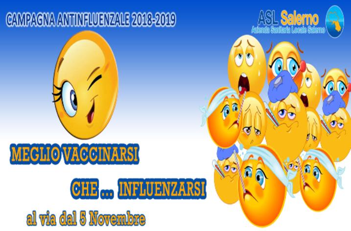 ASL Salerno: al via la campagna vaccinazione antinfluenzale