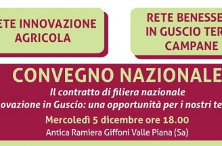 """Giffoni Valle Piana: Convegno Agrocepi su """"Innovazione in guscio"""""""