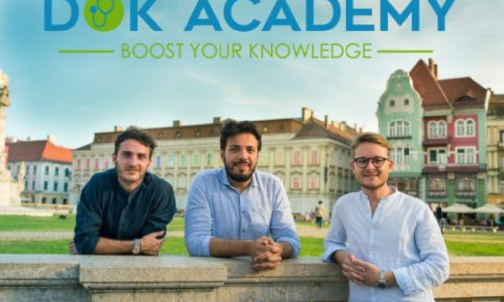 Anche un giovanissimo medico salernitano nella Startup DokAcademy