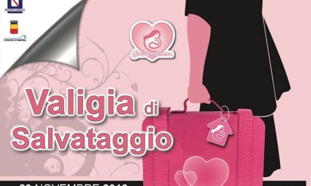 """""""La valigia di salvataggio"""" in Campania con  Barbara De Rossi presidente onoraria"""