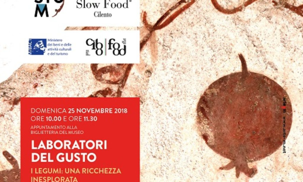 A Paestum il Laboratorio del Gusto di Slow Food con Giovanna Voria