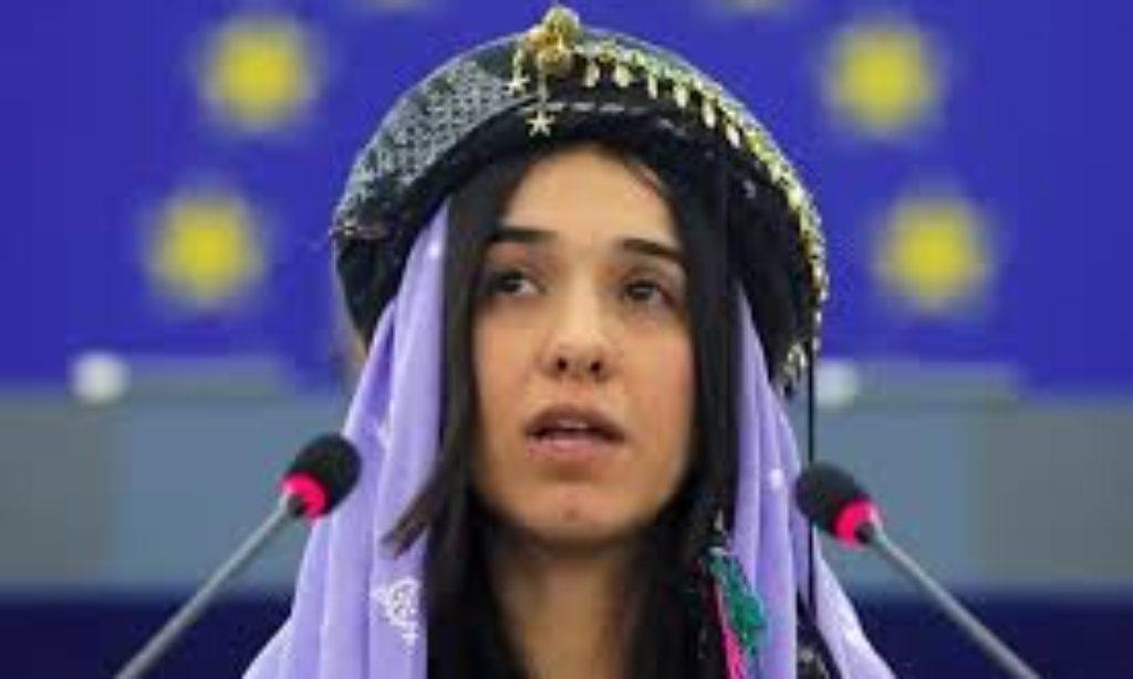 Violenza sulle donne: Nadia Murad, da schiava sessuale a Premio Nobel per la Pace 2018