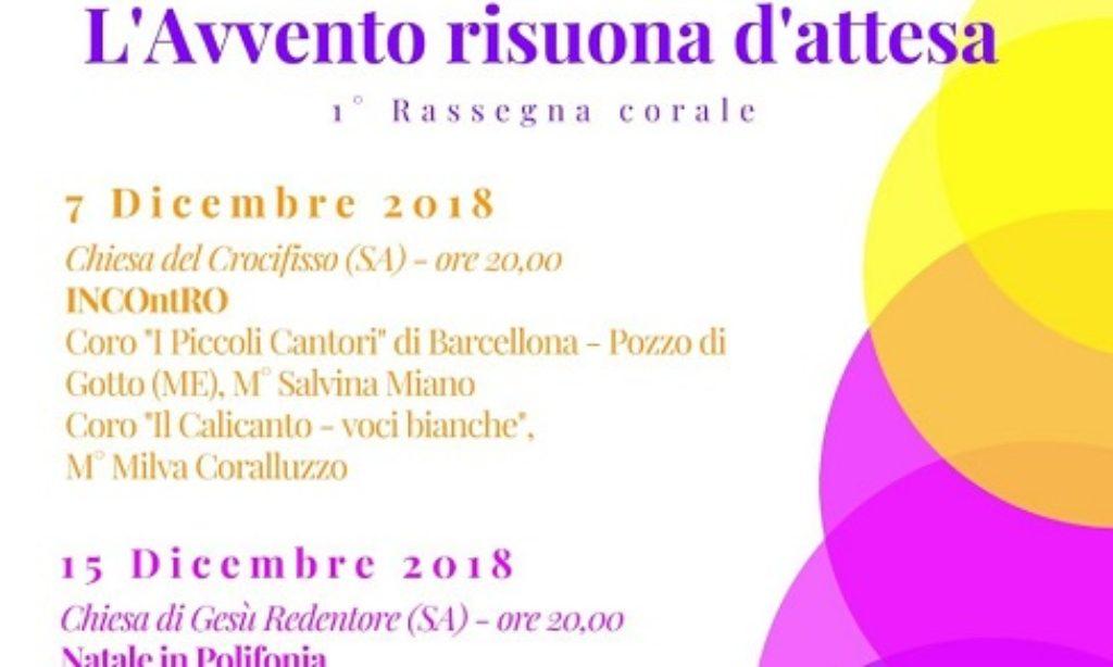 """A Salerno """"L'avvento risuona d'attesa"""" con la musica corale"""