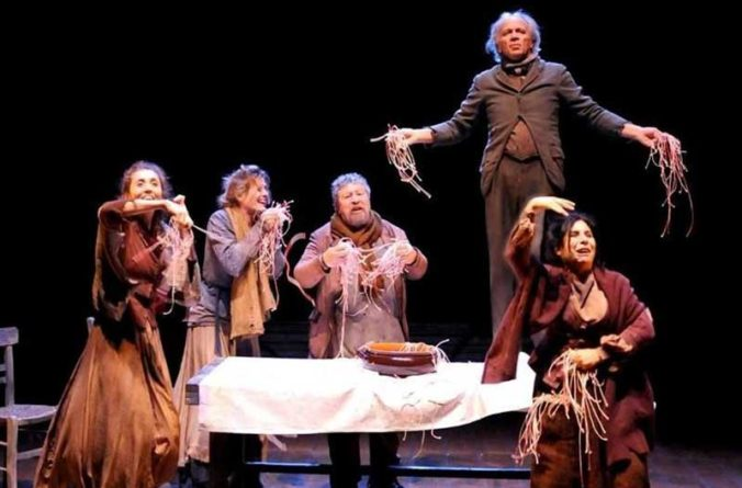 """A Giffoni Teatro Lello Arena porta in scena """"Miseria e Nobiltà"""""""