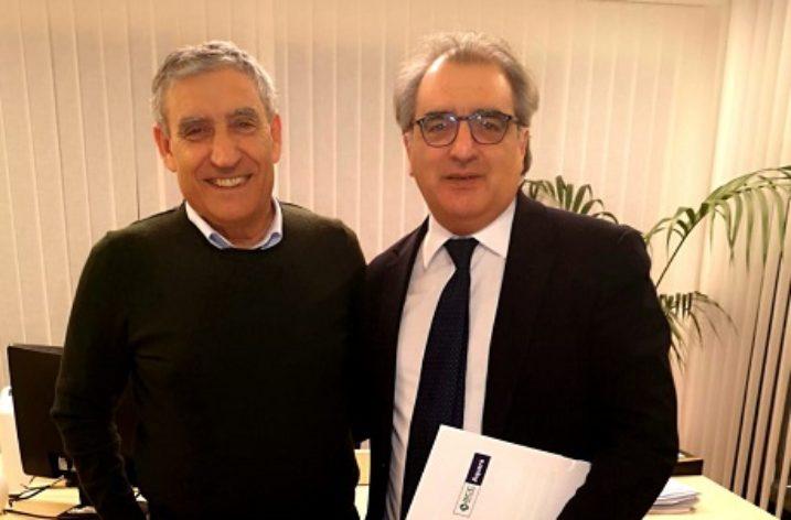Direttore Marino-on. Gigi Casciello: incontro sulla Riforma delle Bcc