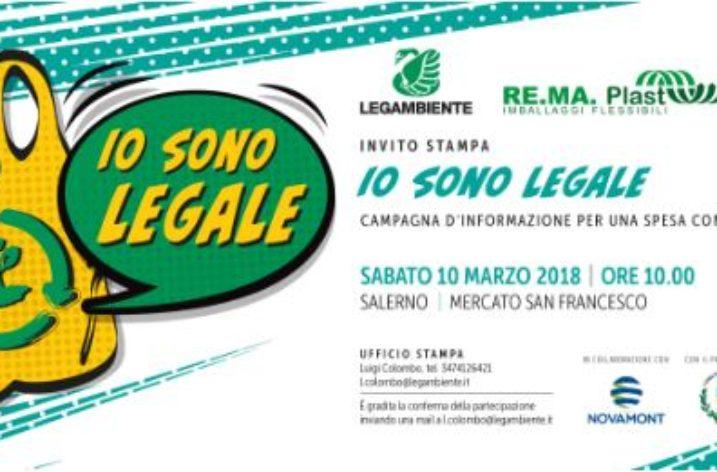 """A Salerno il primo appuntamento per la campagna """"Io sono legale"""""""