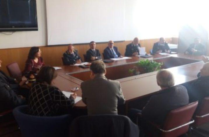Sesto incontro Prefetto- Comitato provinciale su Ordine e Sicurezza