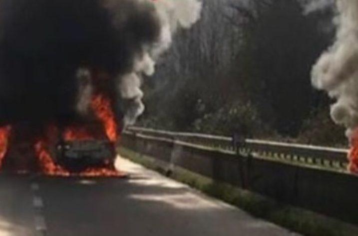 Av-Sa: Assalto a tre portavalori tra kalashnikov e fiamme