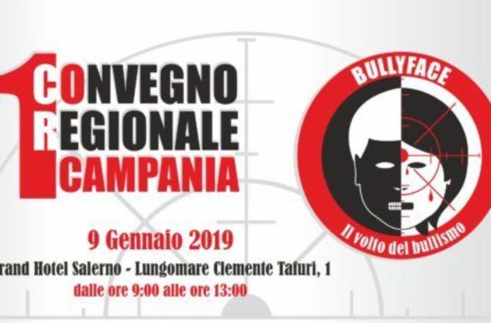 """""""BullyFace: il volto del bullismo"""",  il 9 Gennaio a Salerno"""