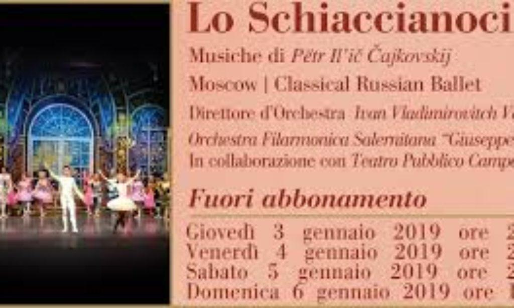 """Le emozioni de """"Lo Schiaccianoci"""" con il Classical Russian Ballet"""