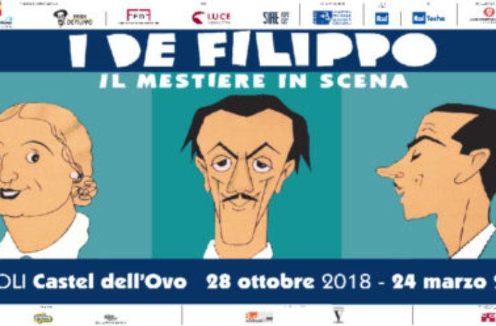 """Ciceroni d'eccezione per """"i De Filippo, il mestiere in scena"""""""