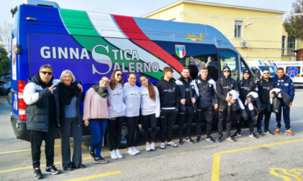 Ginnastica Salerno a Busto Arsizio  per la prima di campionato