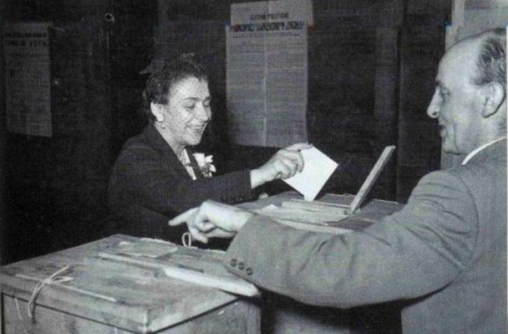 """1 febbraio 1945: la """"restaurazione"""" delle donne"""