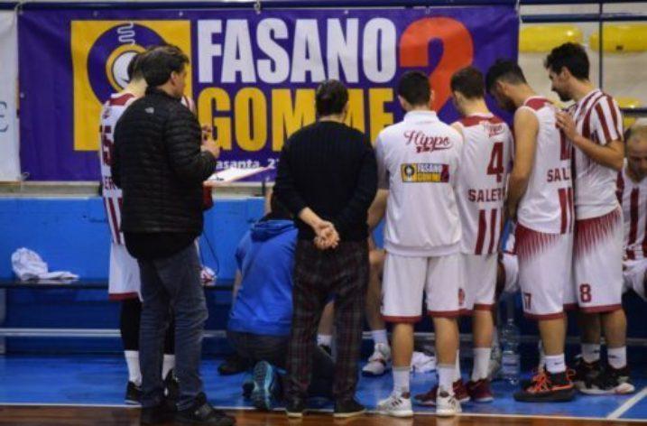 La Fasano Gomme 2 Hippo Basket Salerno riceve la corazzata Roccarainola