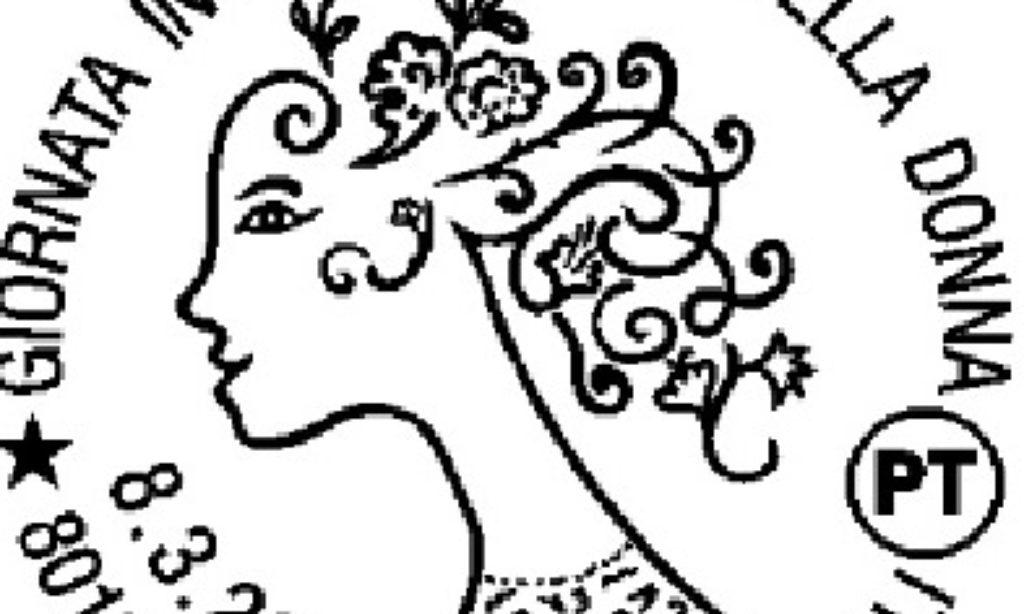 Festa della donna: annullo filatelico figurato a Napoli