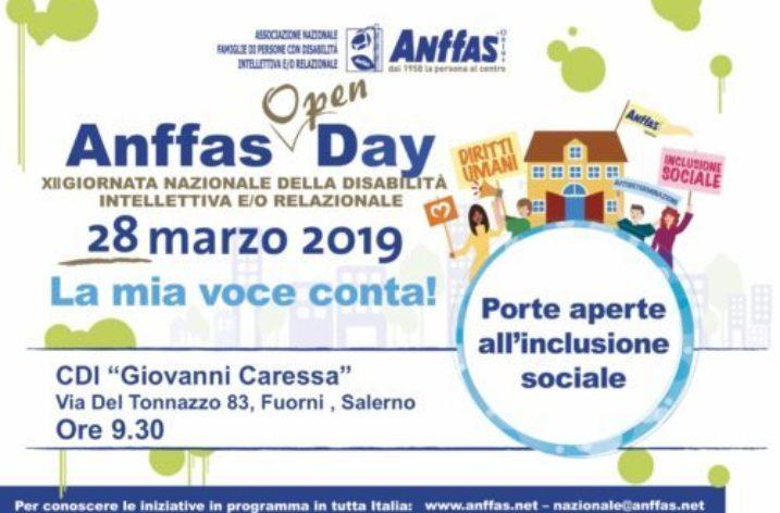 28 Marzo Giornata della Disabilità intellettiva e/o relazionale