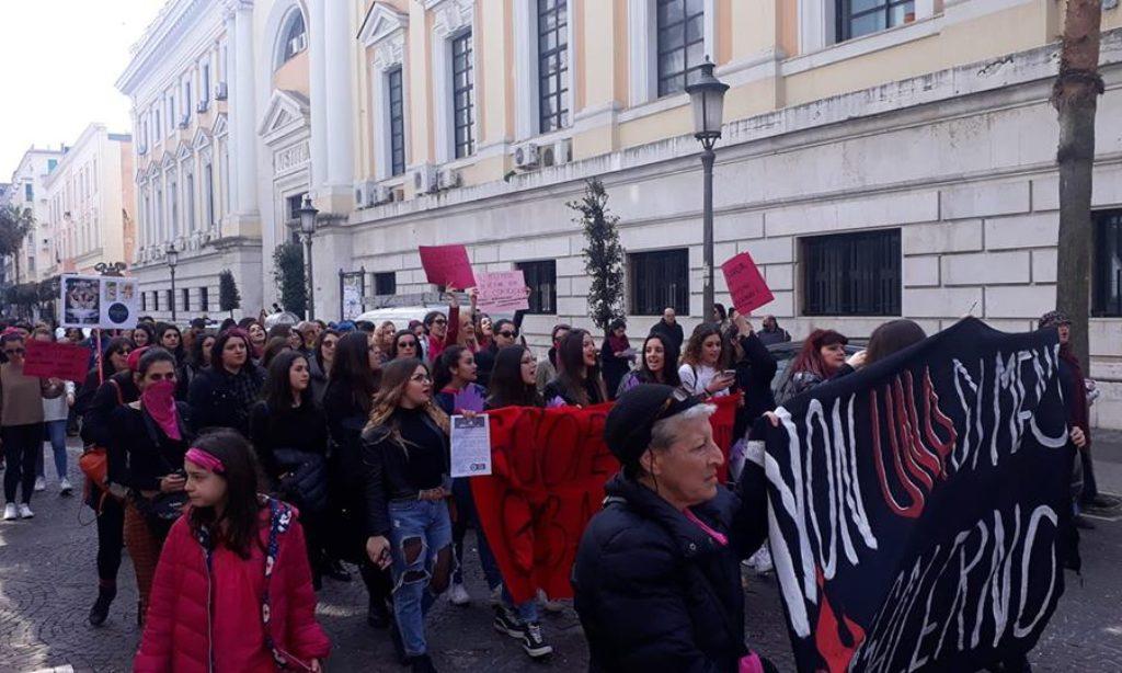 """8 marzo a Salerno con """"Non Una di meno"""""""