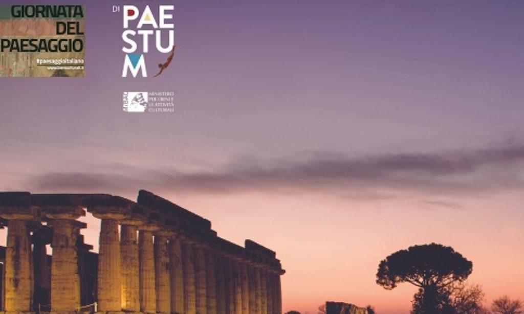 """14 Marzo: """"Paestum nella notte"""".Giornata nazionale del Paesaggio"""