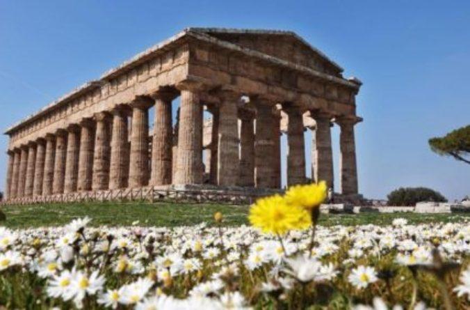 Finalmente è arrivata la primavera anche al Parco Archeologico di Paestum!