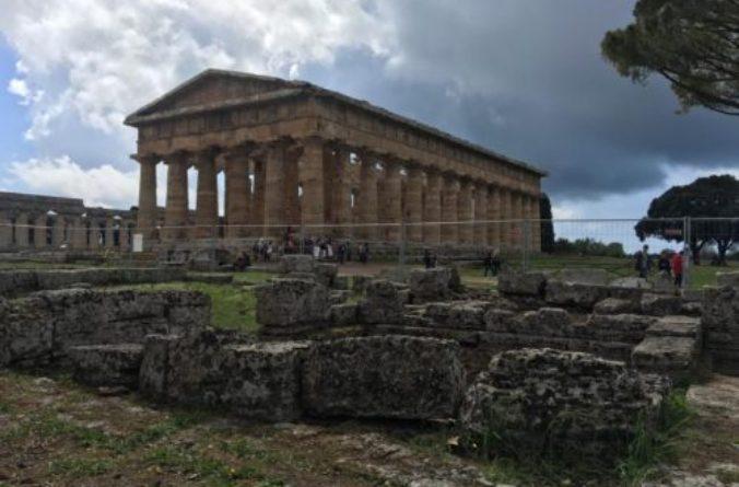 """Paestum: si scopre la """"seconda vita"""" del tempio di Nettuno"""