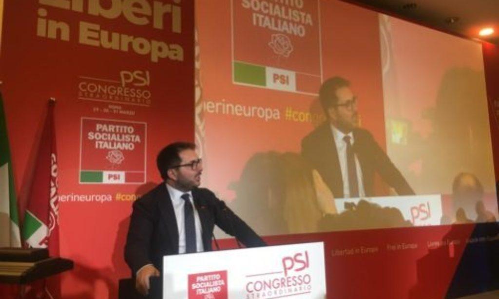 Enzo Maraio è il nuovo Segretario Nazionale del Partito Soocialista Italiano