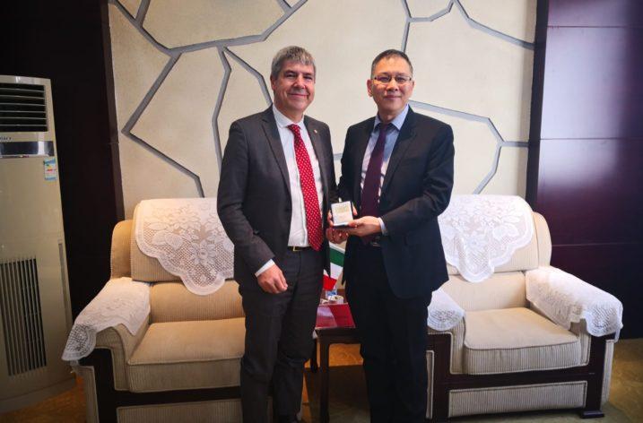 Via della Seta: firmato l' accordo di collaborazione bilaterale tra geologi Italia-Cina