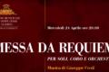 Al Verdi rose sul palco per il Requiem del maestro di Busseto.