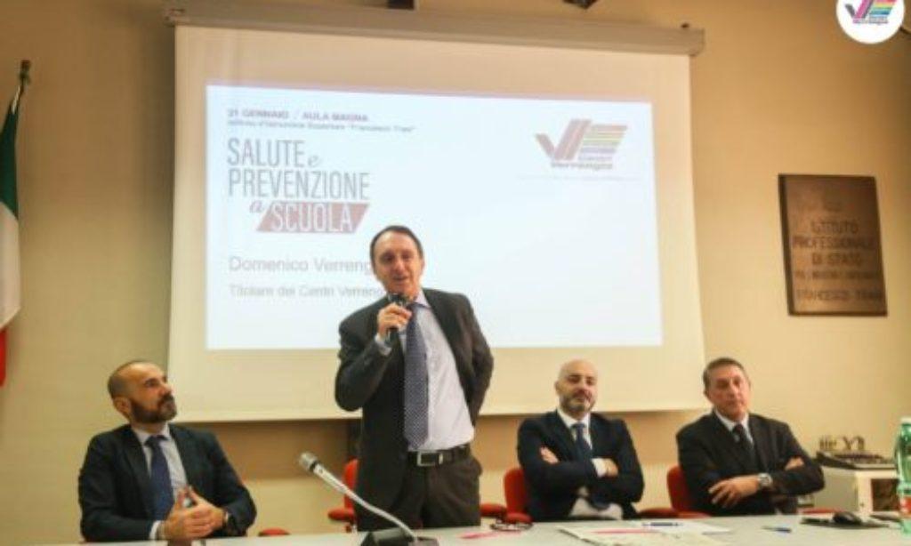 """""""Salute e Prevenzione a scuola"""":domani4° tappa all'Istituto Genovesi – Da Vinci"""