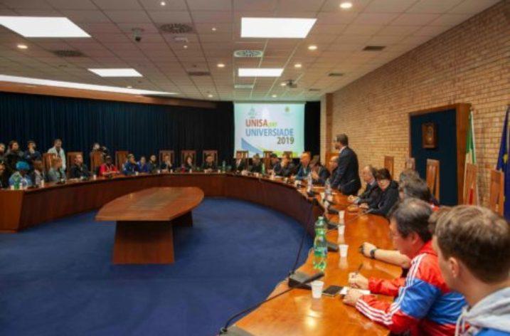 UNISA: Universiade 2019 con le delegazioni di 59 Paesi partecipanti