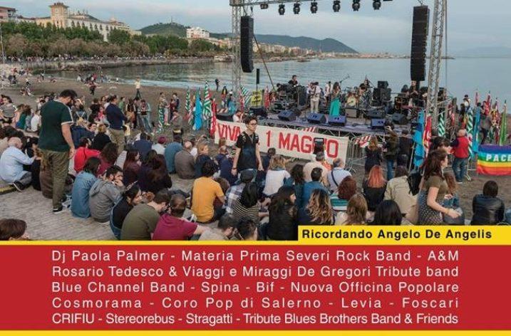 Il Primo Maggio è sulla Spiaggia di Santa Teresa a Salerno