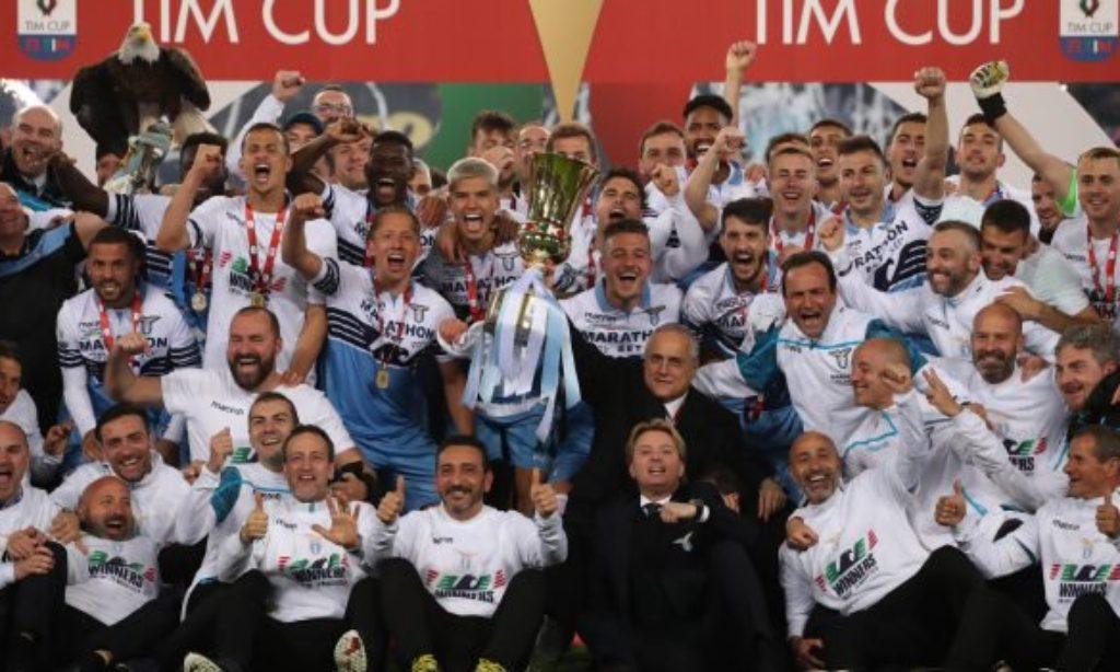 La Lazio vince la Coppa Italia