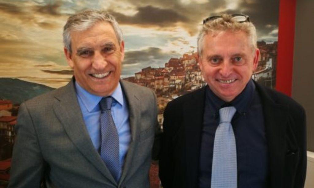 Alla Bcc di Aquara in visita il Presidente della Distilleria Marzadro