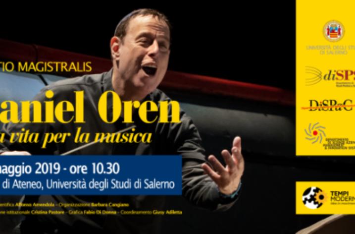 UNISA: Una vita per la Musica, incontro con il maestro Daniel Oren