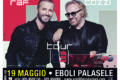 Annullato il concerto di Raf e Umberto Tozzi al Pala Sele di Eboli