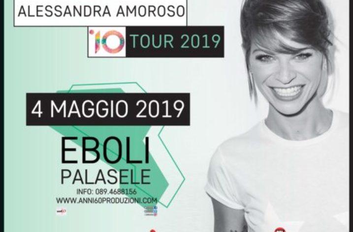 "Stasera al Palasele sold out bis per  ""10 Tour"" di Alessandra Amoroso"