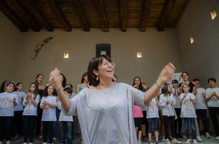 Cantori in formazione a Salerno per la dodicesima edizione del Cantagiovani