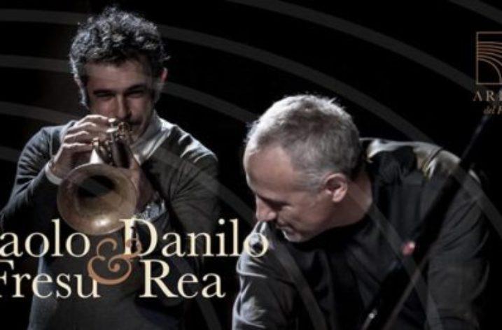 """All' Arena del Fuenti parte """"Passaggio a Sud-Ovest""""Paolo Fresu e Danilo Rea"""