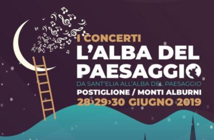 """Da oggi a  Postiglione """"I concerti de L'alba del paesaggio"""""""