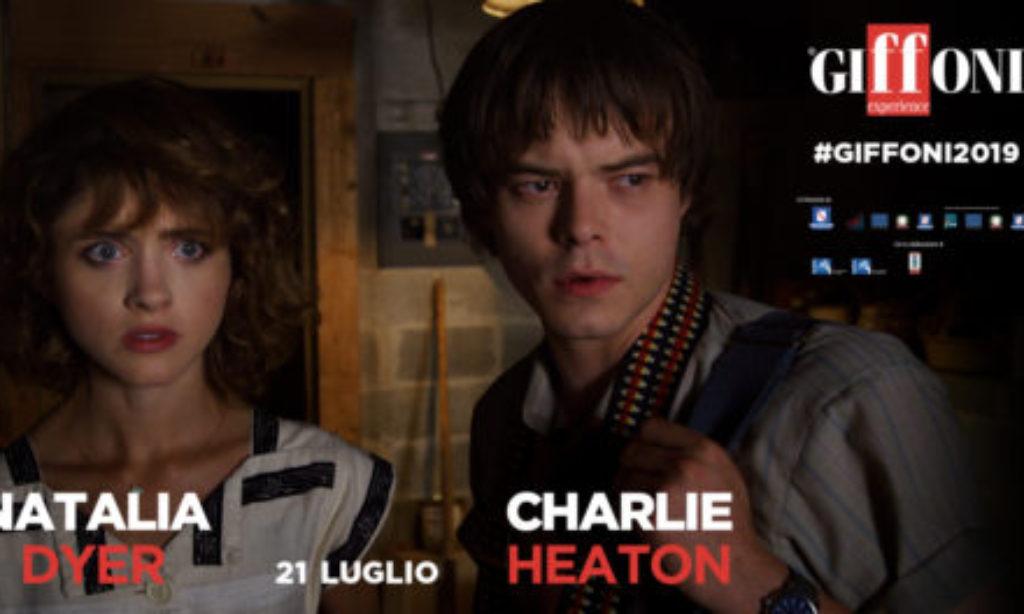 Il 21 Luglio Natalia Dyer e Charlie Heaton incontrano i giffoners