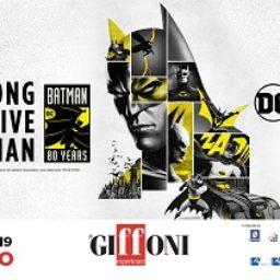 Batman 80 YEARS al Giffoni Film Festival 2019