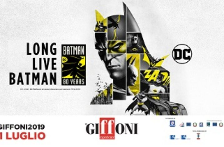 Batman 80 YEARS al Giffoni Film Festival 2019